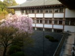 Garden inside Omuraikan