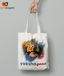 Yakshagana Tote Bag