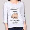Hodi Jaap Bisadi Kundapra Bhashi Matadi Women's Full Sleeve T-Shirt