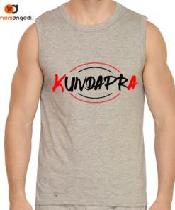 KUNDAPRA Men's Gym Vest – English