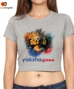 Yakshagana Crop Tops