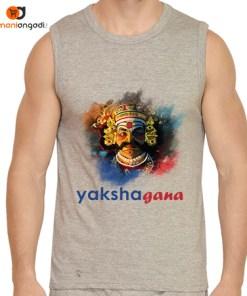 Yakshagana Men's Gym Vest