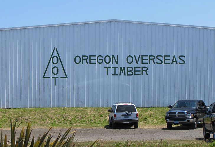 Oregon Overseas Timber Company Inc.