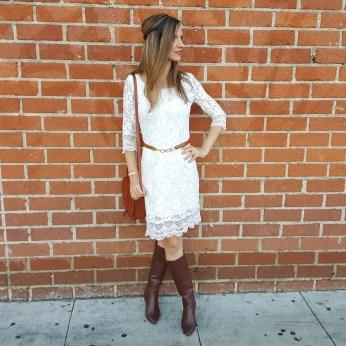anthropologie-lace-dress-nine-west-boots-lucky-brand-saddle-bag-banana-republic-belt-2