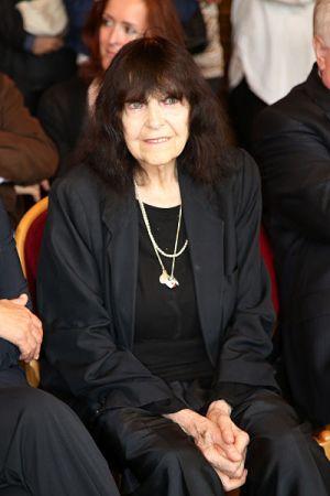 Friederike Mayröcker (1924-2021) Foto door Franz Johann Morgenbesser CC BY-SA 2.0