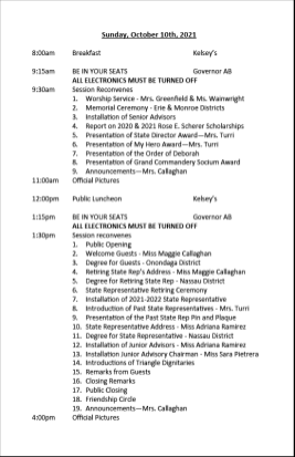 2021 Convention Schedule of Events final10241024_3