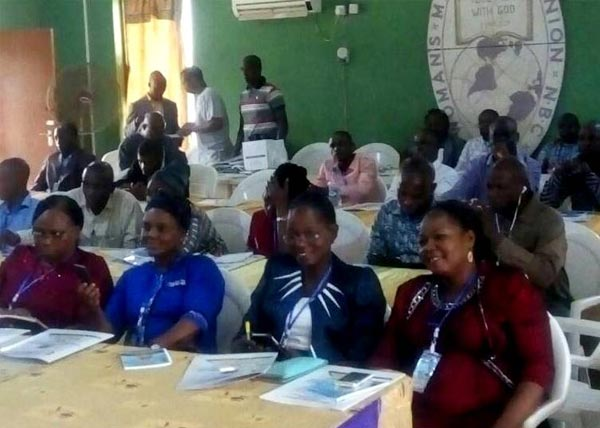 A Cross Section of Participants at the Capacity Building Workshop  at Camp Young. Ede, State of Osun.