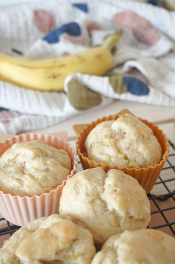 Bananenmuffins für Babys
