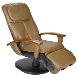 Human Touch Ht 103 Robotic Massage Chair In Cashew Leather Like