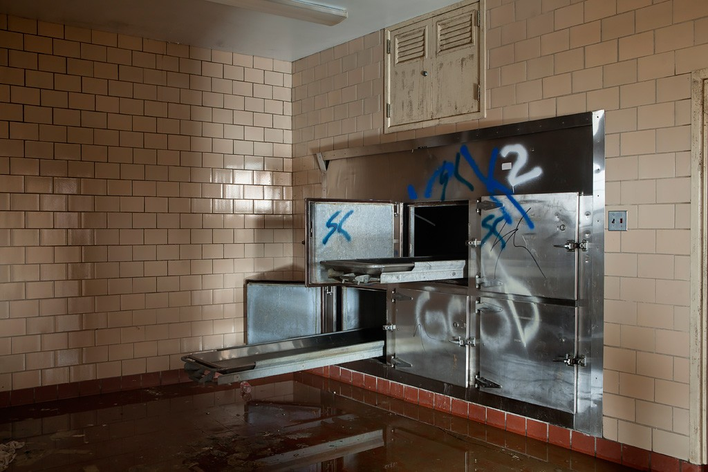 Flooded Morgue Photo Of The Abandoned Northville State