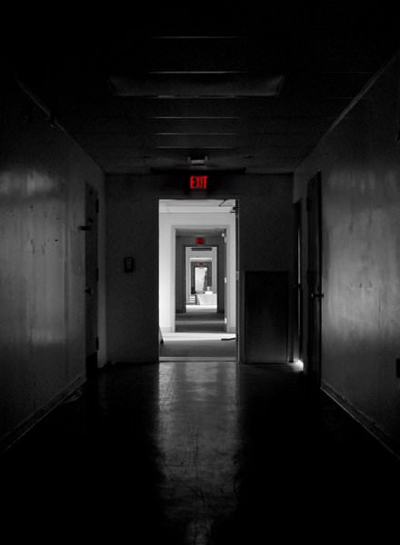 Exit Hallway Photo Of The Abandoned Undercliff State