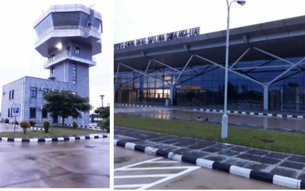 """Aeroporto internacional  do Luau   """"transformado""""  num elefante branco"""