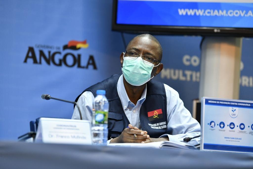 Angola a um passo dos 200 casos de Covid-19 com 15 fontes de transmissão desconhecidas