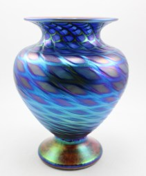 Blue Escher Fat Boy Classic Vase