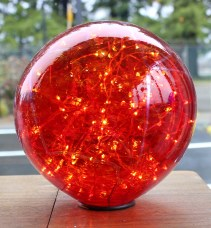 Cherry Red Mood Sphere
