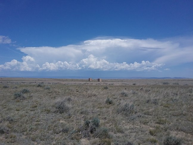 de prairie in juni