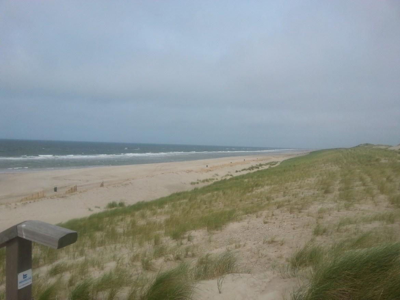 stand bij de Maasvlakte