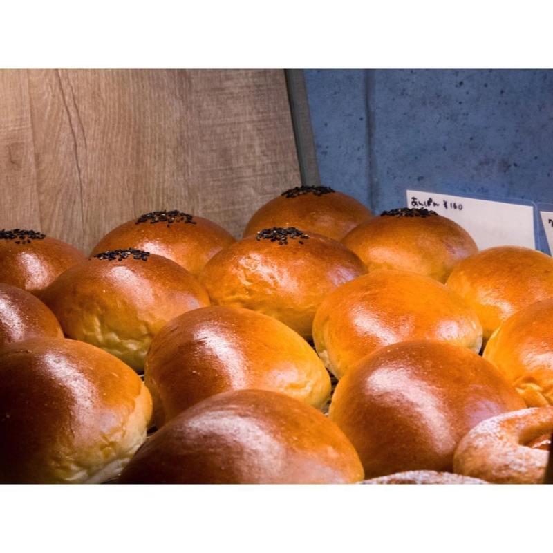 オパンのあんぱん、クリームパン | OPAN オパン|東京 笹塚のパン屋