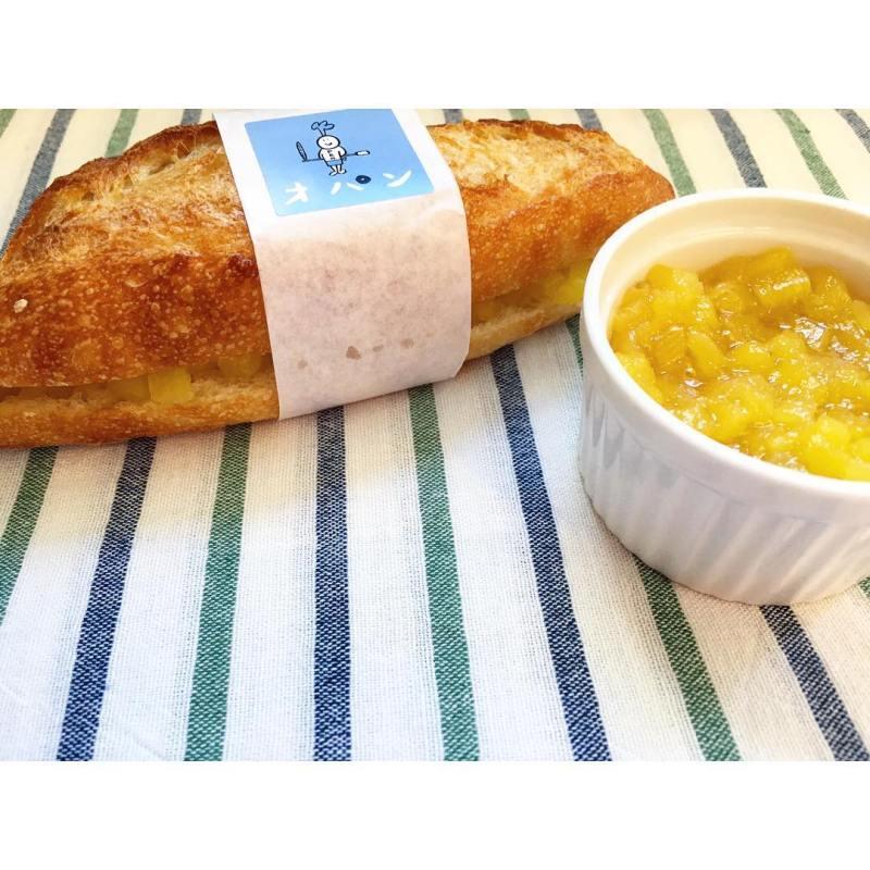 オパンの季節のジャムフランス パイナップルジャム | OPAN オパン|東京 笹塚のパン屋