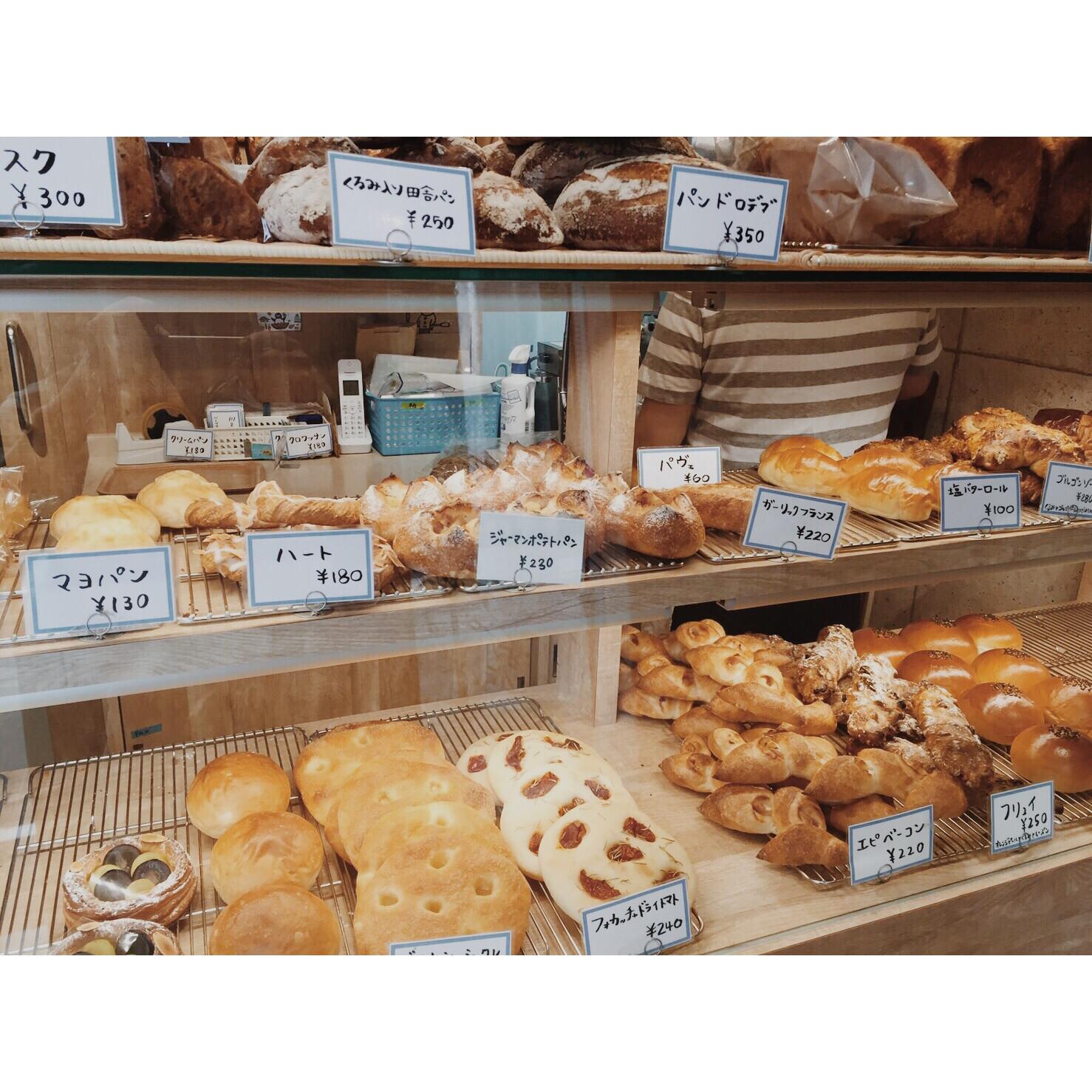 本日のパン棚(2016.09.28) | OPAN オパン|東京 笹塚のパン屋