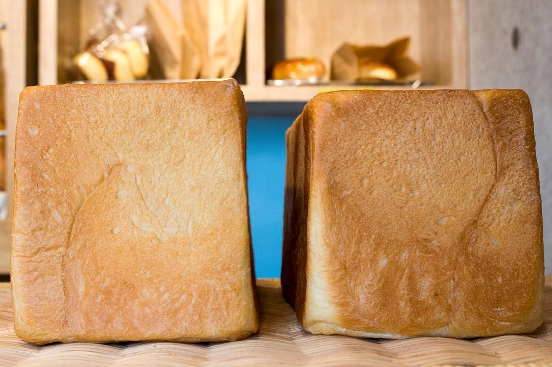 オパンの山型食パン、角型食パン(2017.02.11)