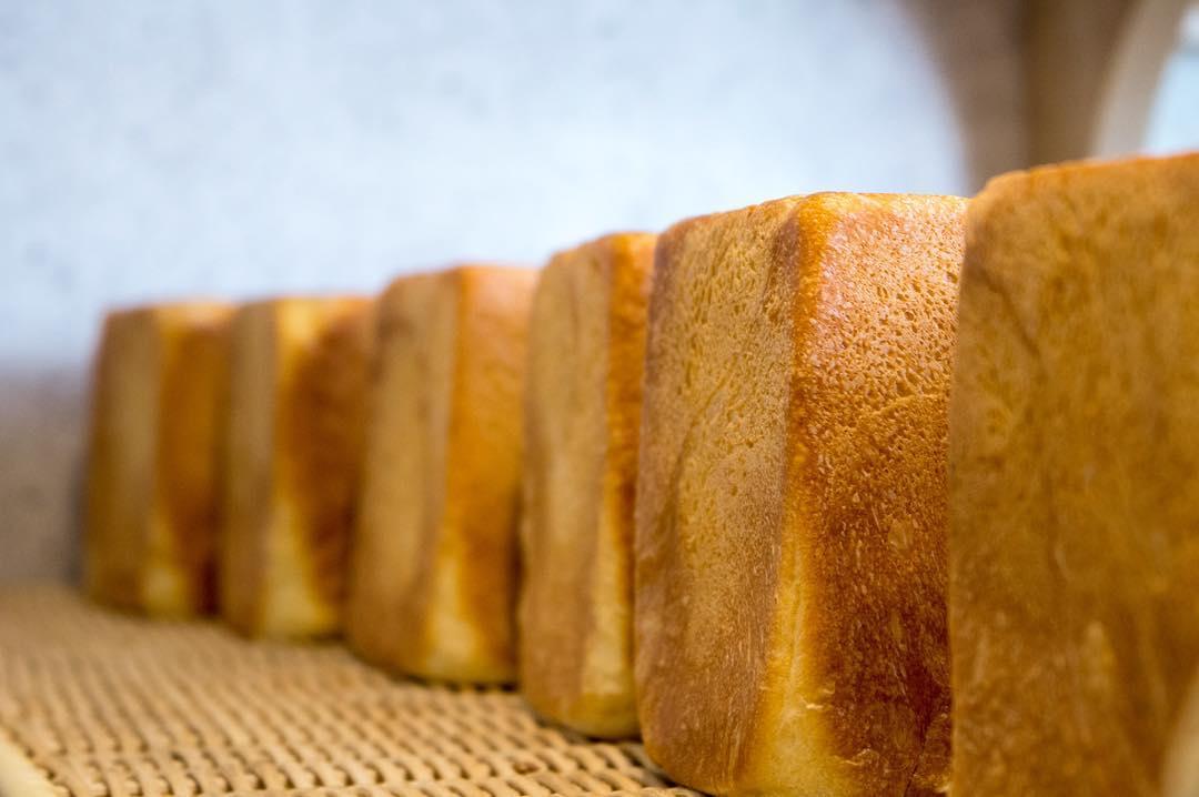 オパンの山型食パン、角型食パン(2017.03.05)