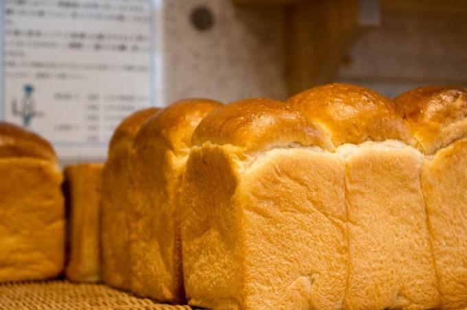 オパンの山型食パン、角型食パン(2017.04.20)