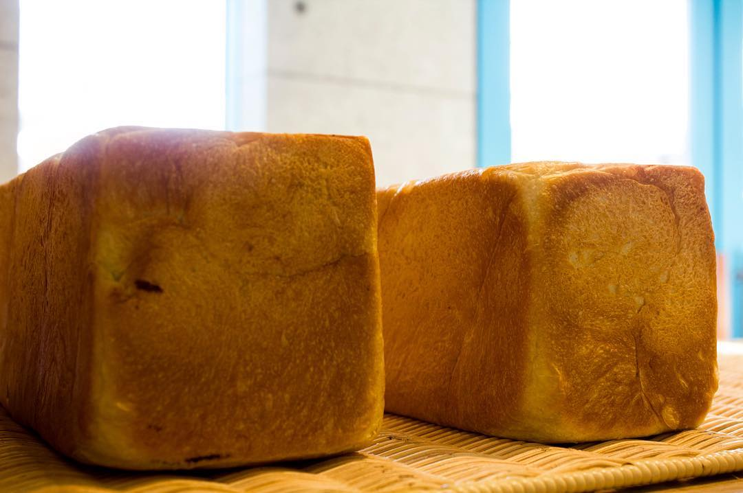 オパンの山型食パン、角型食パン(2017.05.08)