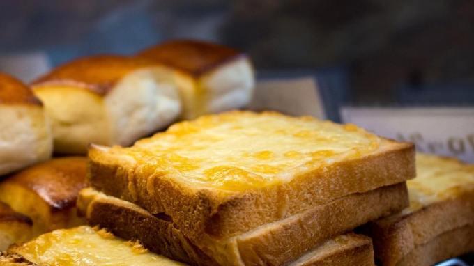 オパンの食パンのクロックムッシュ(2017.05.16)