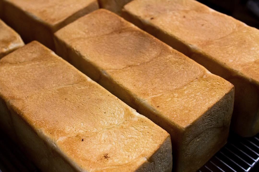 オパンの山型食パン、角型食パン(2017.07.01)