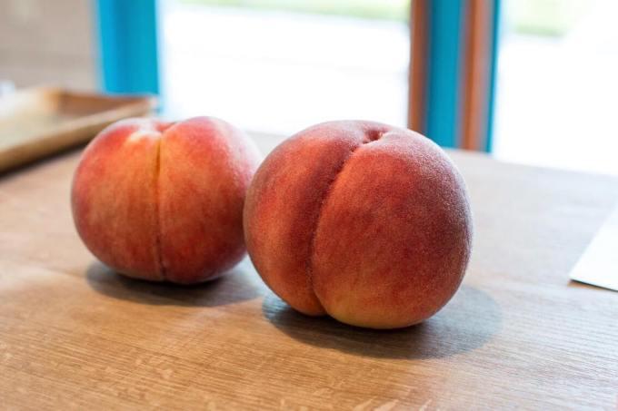 オパンの桃のデニッシュ(2017.08.26)
