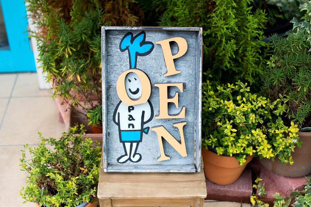 オパンは朝8時からオープンです(2017.09.06)