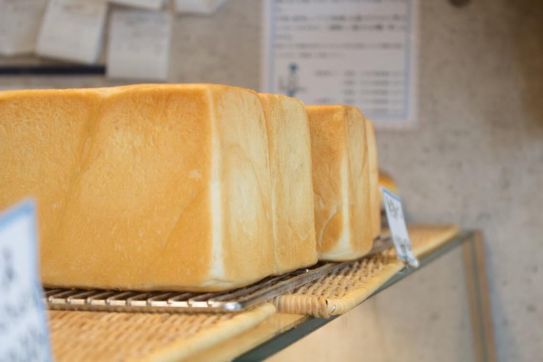オパンの山型食パン、角型食パン(2017.10.24)