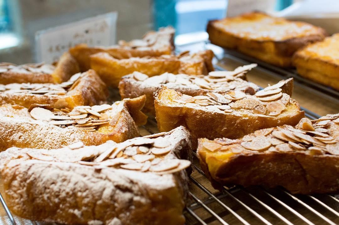 オパンのレーズン食パンのフレンチトースト(2018.03.15)