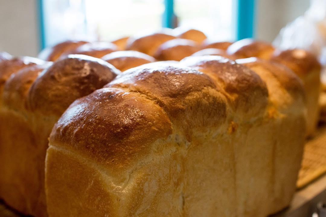 オパンの山型食パン、角型食パン(2018.06.04)