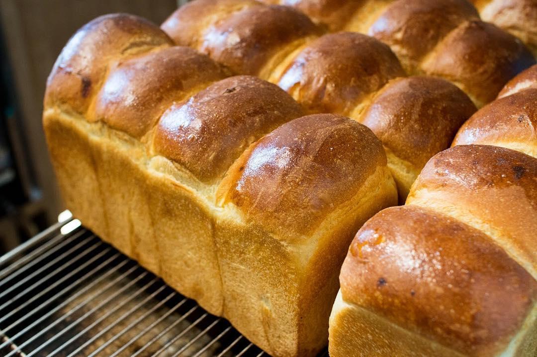 オパンの山型食パン、角型食パン(2018.07.15)