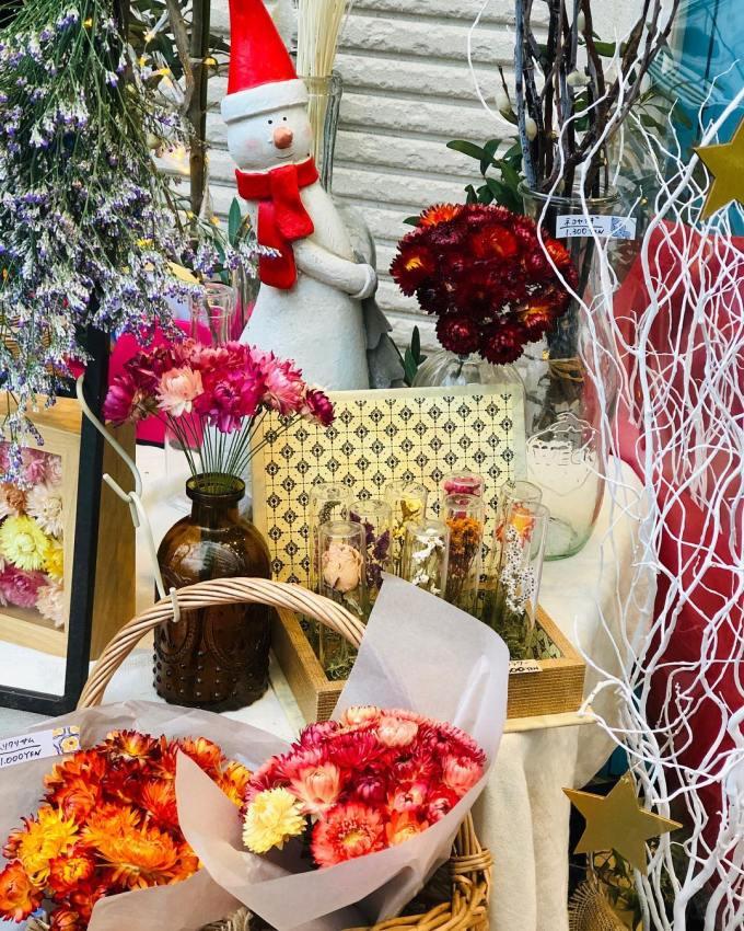 「オパンの1日花屋さん」がオープン(2018.11.18)