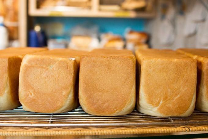 オパンの山型食パン、角型食パン(2018.11.23)