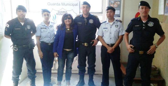 Comitiva de LP visita a Guarda Civil de Sete Lagoas para aprimorar conhecimentos sobre o trânsito