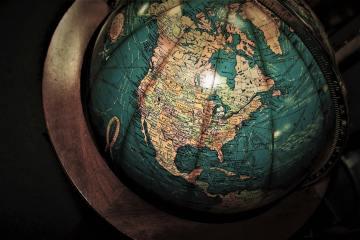 map monde, robert louis stevenson