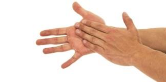 Suor nas mãos