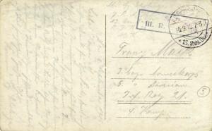 Feldpostkarte Erster Weltkrieg