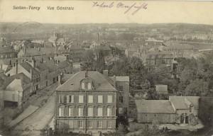 Feldpostkarte Erster Weltkrieg Sedan-Torcy