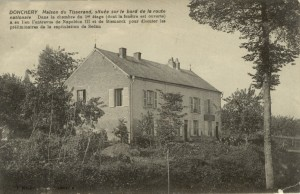Feldpostkarte Erster Weltkrieg Donchery