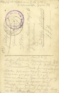 Feldpostkarte Erster Weltkrieg Martin Kellermann