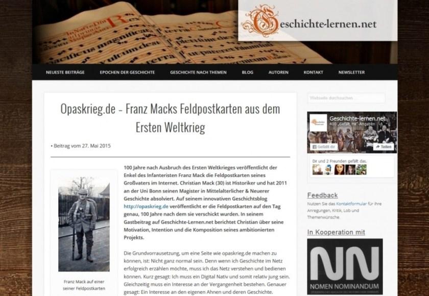 Gastbeitrag geschichte-lernen.net