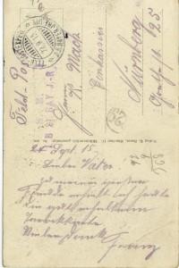 Feldpostkarte Erster Weltkrieg Schuhmacherwerkstatt