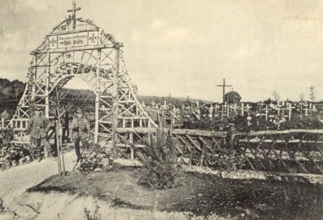 Feldpostkarte Erster Weltkrieg Bois-Brule