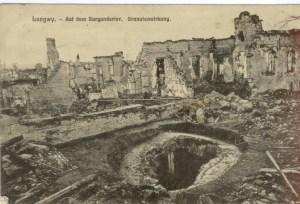 Feldpostkarte Erster Weltkrieg Longwy