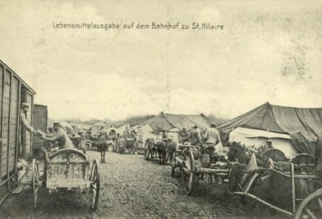 Feldpostkarte Erster Weltkrieg St. Hilaire